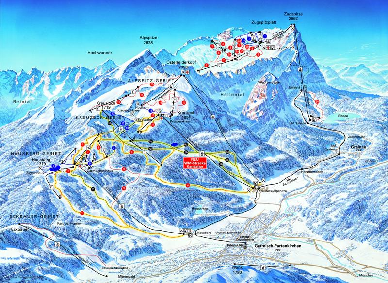 Garmisch-Partenkirchen Germany  city images : Garmisch Partenkirchen Piste Map – Free downloadable piste maps