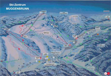 Muggenbrunn Ski Resort Piste Map