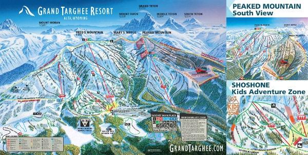 Grand Targhee Piste Maps
