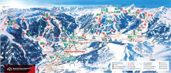 Bad Kirchheim bad kleinkirchheim piste map free downloadable piste maps