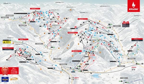 Kitzbuhel Piste Map Free downloadable piste maps.
