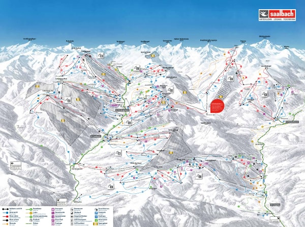 Ski Circus Ski Resort Piste Map