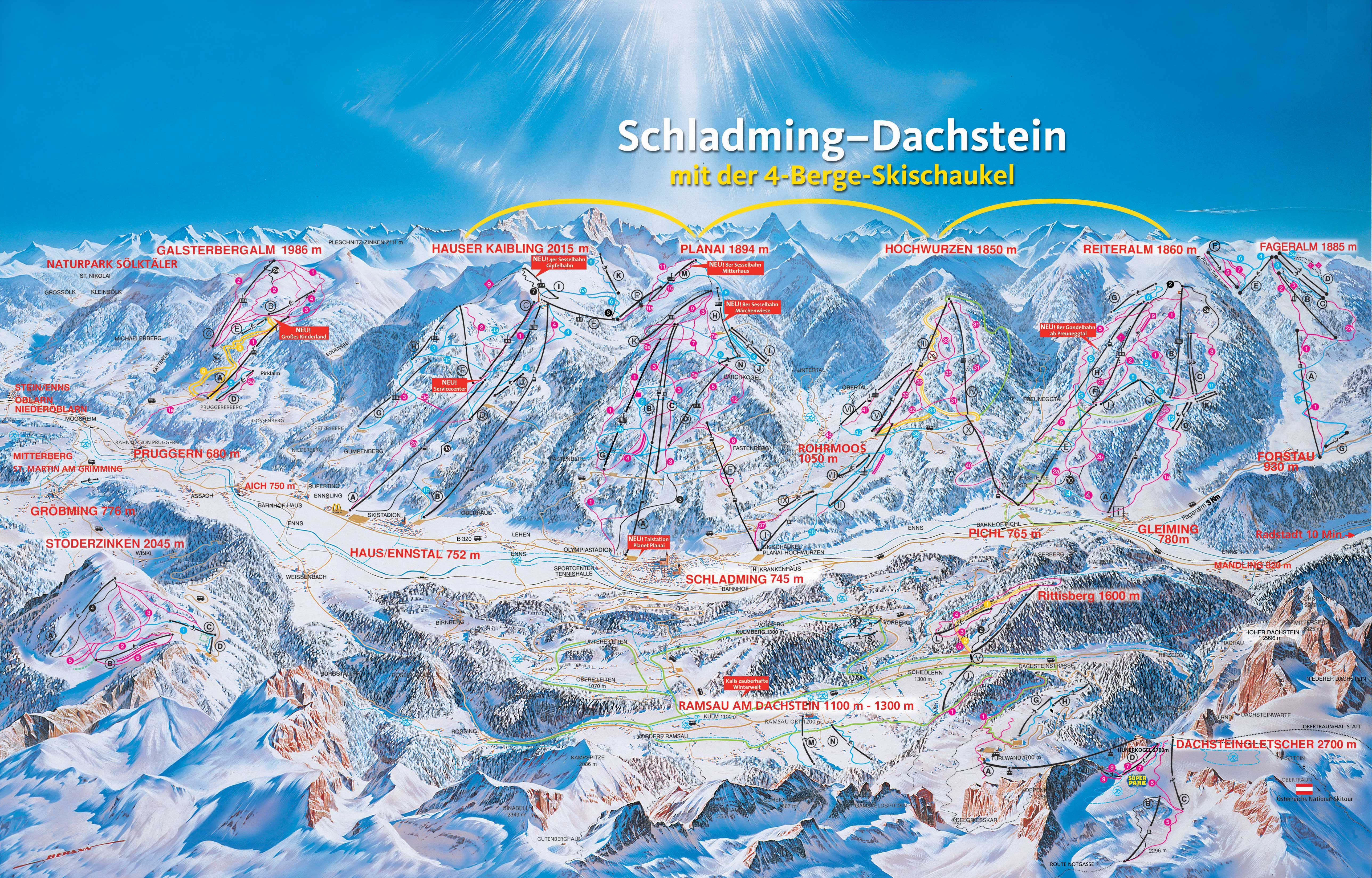 List of Synonyms and Antonyms of the Word ski map