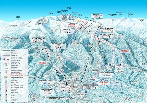 Borovets Ski Map Pdf Download