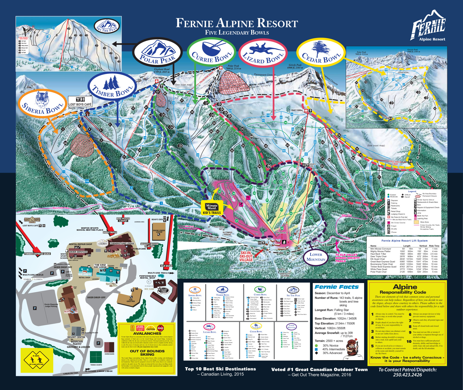 Free Downloadable Piste Maps