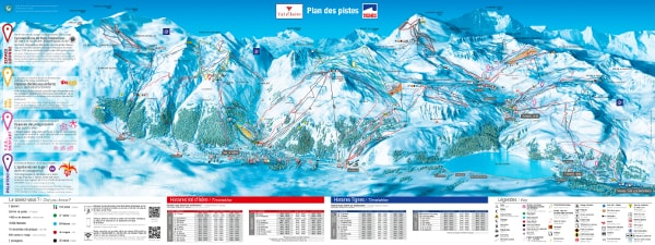 Val d'Isere Ski Resort Piste Map