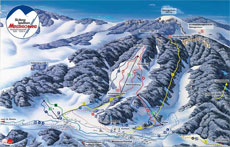 Menzenschwand Ski Resort Piste Map