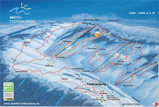 Todtnauberg Ski Resort Piste Map