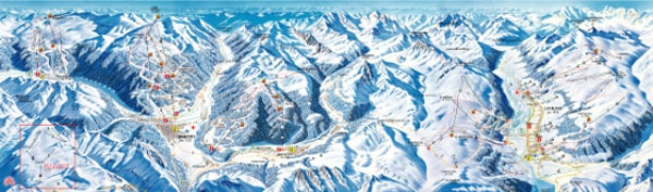 Alta Valtellina Ski Resort Piste Map