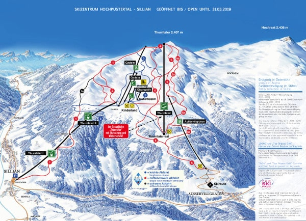 Torgnon Piste Map