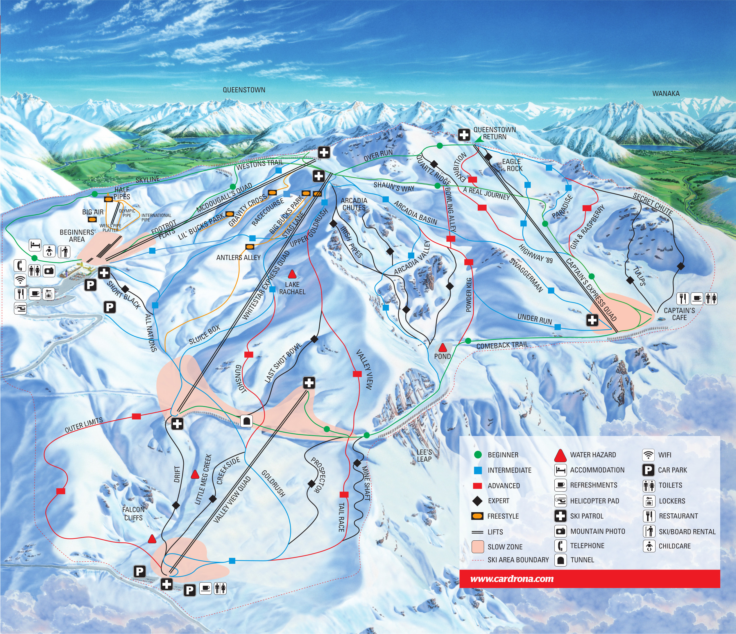 Cardrona piste map free downloadable piste maps cardrona piste map gumiabroncs Images