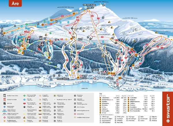Are Piste Map