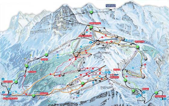 Wengen Piste Map Free downloadable piste maps