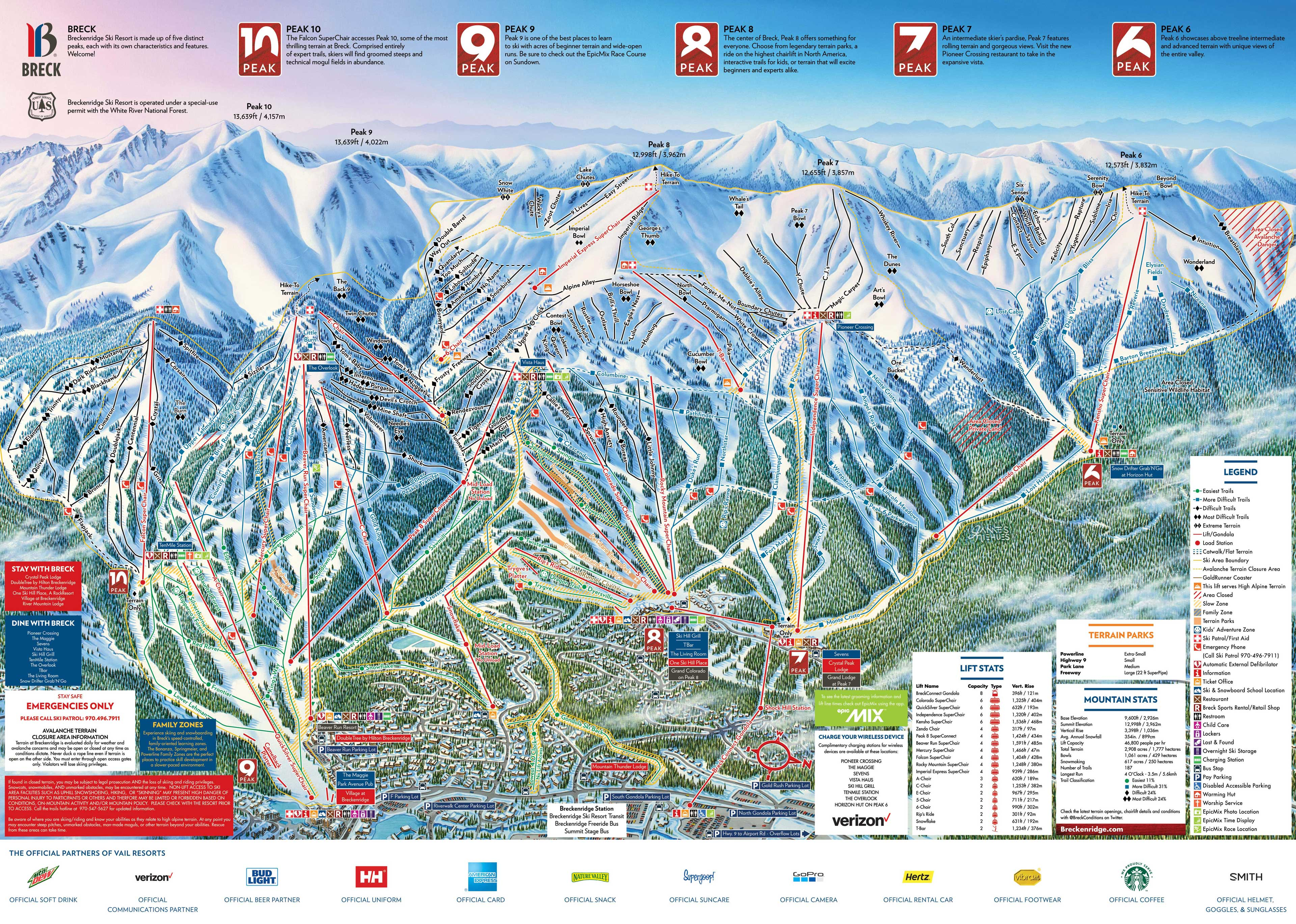 Breckenridge piste maps breckenridge piste map gumiabroncs Gallery