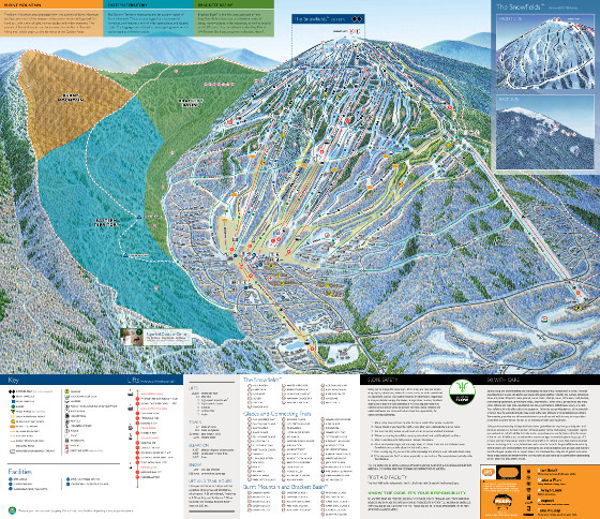 Sugar Loaf Mountain Piste Map