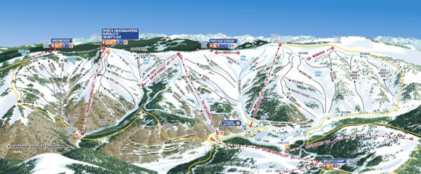 Vail Piste Maps on